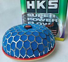 3''High HKS ID:100mm Super Power Air Filter Flow Intake Reloaded Cleaner Blue