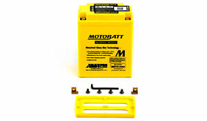 Motobatt Battery For Triumph Trophy 1200 1999 (1200 CC)
