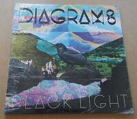 DIAGRAMS Black Light 2012 UK heavyweight vinyl LP + MP3 SEALED