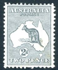 AUSTRALIA-1913 2d Grey Sg 3  MOUNTED MINT V15342