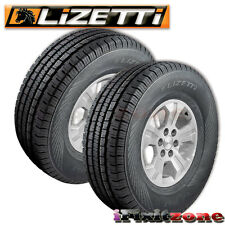 2 Lizetti LZ-HST P265/65R17 110T Quality All Season Truck Tires 265/65/17 New