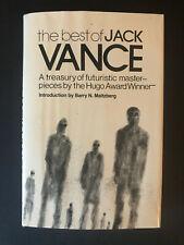 The Best of Jack Vance,  by Jack Vance - 1978 - 1st Ed, Vtg, Hardcover Book w/DJ