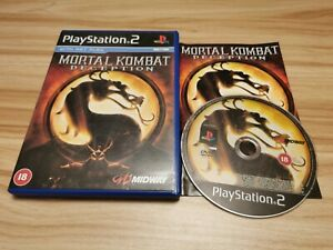 Mortal Kombat: Deception For Sony PlayStation 2 PS2 Complete - See Offer!