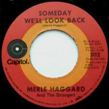 "MERLE HAGGARD Someday We'll Look Back/It's Great To Be Alive 7"" 45rpm Decca 1971"
