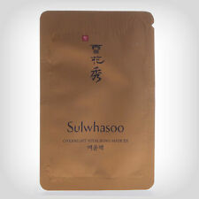 Sulwhasoo Overnight Vitalizing Mask EX 5ml *15Pcs (New)+ Sulwhasoo Samples