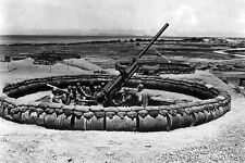 New 5x7 World War II Photo: 98th AAA Gun Battalion, 137th Group in Okinawa