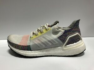 adidas Ultra Boost 19 Mens Running Shoes White US10 M