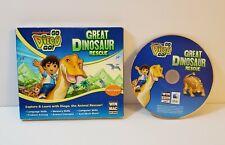 Go, Diego, Go Great Dinosaur Rescue PC CD-Rom Windows Mac 2008 kids game