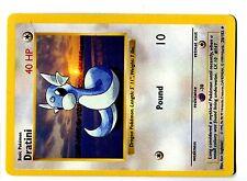 POKEMON BASE English SHADOWLESS CARD UNCO N°  26/102 DRATINI
