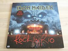 IRON MAIDEN 3 IMAGE LP - ROCK EN RIO / 2002 EMI PRESS NEUF