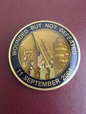September 11 2001 9/11 Wounded But Not Defeated 'United We Stand' Challenge Coin