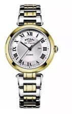 Rotary Swiss Made Lucerne Two Tone Ladies Watch LB90188/01/L
