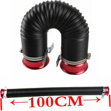 """Car SUV Cold Air Intake Duct Turbo Piping Tube 3"""" Inlet Flexible Adjustable Hose"""