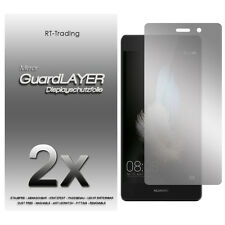 2x HUAWEI P8 LITE SPIEGELFOLIE DISPLAY FOLIE SCHUTZFOLIE MIRROR SCREEN PROTECTOR