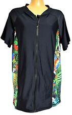 930d9c591f TS bathers TAKING SHAPE plus sz XXS  12 Tropic Rash Vest rashie swimwear  top NWT