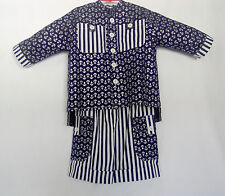 *Handcrafted*  Sailor SUIT  for Boys or Girls 4 (four) YEARS