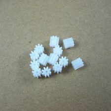 10pcs 8T 0.5 Modulus Plastic Gear 0.9mm Aperture Wheel For Gear Motor/DIY Toy