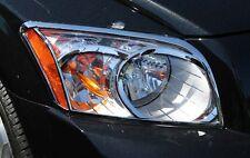 New PUTCO Chrome Head Lamp Trim Rings / FITS 2007-2010 DODGE CALIBER