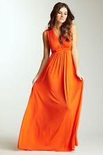 Rachel Pally Sleeveless Caftan Maxi Dress - Sz S 'Goji' Orange Beautiful & HTF