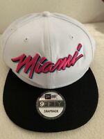 New Era Miami Heat City Beach Vice Ediiton 9FIFTY Snapback Cap 950 Hat USA NEW