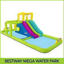 Bestway Splash Course Mega 7m Water Park Outdoor Inflatable Kids Toy W/ Blower