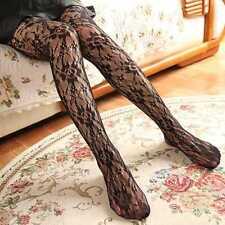 Women's Sexy Hosiery Mesh Vintage Flower Lace Fishnet Crochet Pantyhose Best