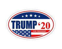 *Oval Car Magnet* Trump 2020 Trump A TO438