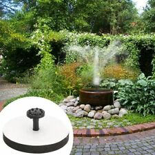 Solar Panel Power Fountain Pump Kit Garden Pond Water Pool Floating Outdoor Tool