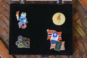 Olympic Pins Set of 4 - Atlanta 1996