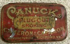 Lata de tabaco prensado