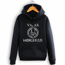 Game of Thrones Hoodies Sweatshirt Men Zip Coat Jacket Cosplay VALAR MORGHULIS