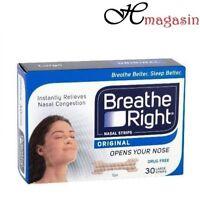 Breathe Right Nasal Strips Tan Large - 30 Strips