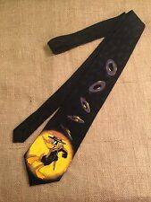 Looney Toons Mania Vaudeville Dancing Daffy Duck w/ Cane and Hat Necktie Tie
