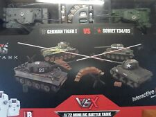 Vsk A03102354 Vsx 1/72 Tiger I/T34 Ir Battle Tank Set Vskc1012