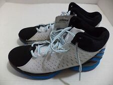 Adidas Men's No Mercy 2014 Basketball Shoe Size 8.5-13 Color White, Black & Blue