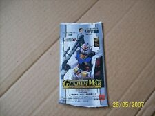 Japanese Gundam War TRADING CARDS NEW Booster Pack Card Game Carddass Masters