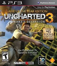 Uncharted 3: Drake's Deception - Game of the Year Edition - Playstation 3 Game