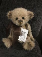 Charlie Bears Tiddlywink mohair limited edition bear