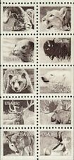 1981 18c American Wildlife, Booklet Pane of 10 Scott 1880-1889 Mint F/VF NH