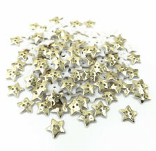 100pcs Gold Star Sewing Resin Buttons decoration scrapbooking crafts 13mm