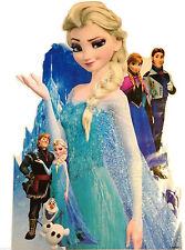 Congelato Disney regina ELSA OLAF Bambini Vivaio Adesivi Decor muro di grandi dimensioni