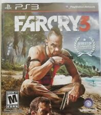 Far Cry 3 (Sony PlayStation 3, 2012) slightly used CONDITION