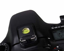 Hot Shoe Bubble Spirit Level Cover Fits Canon Nikon UK Seller