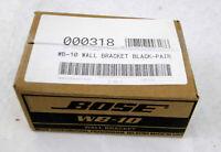 Bose WB-10 Black Wall Mount Brackets NEW IN BOX!!!