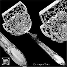 Deflon French Sterling Silver Asparagus Pastry Toast Server