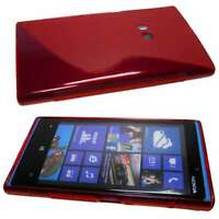 Smartphone Case for Nokia Lumia 920 TPU-Case Protective Cover in red