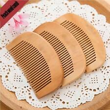 Trendy Hair Natural Peach Wood Wooden Comb Anti-Static Beard Comb Fast