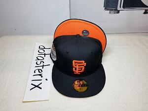 San Francisco Giants 5950 MLB Black Orange UV 1984 All-Star Game NOT HAT CLUB