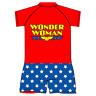 Wonder Woman Girls Swimming Costume Swim Suit age 18 months 2 3 4 5 6 kids women