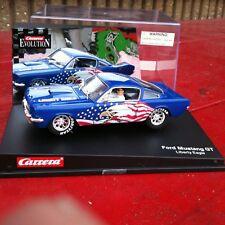 Carrera 25744Slot Car Liberty Eagle Mustang Gt